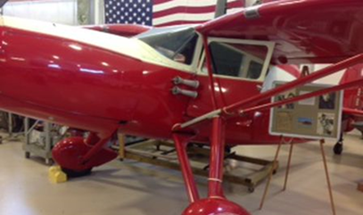1939 Fairchild F24A, Champaign Aviation Museum