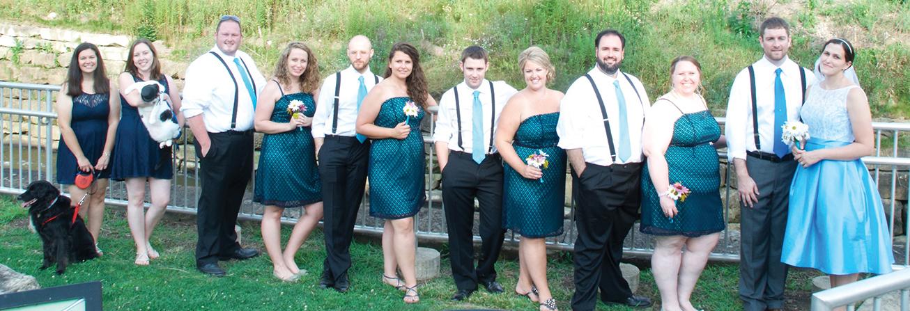 Julie Fitzwater Wedding