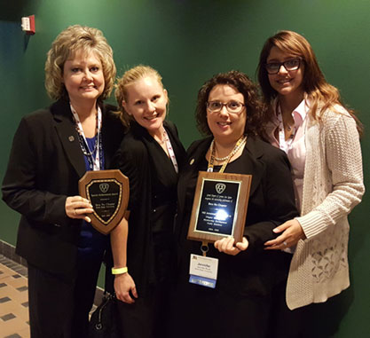 Insurance Studies Students Attend National Conference