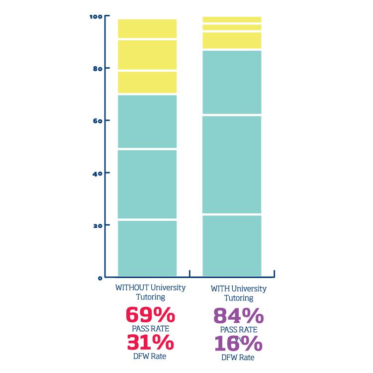 University Tutoring Infographic