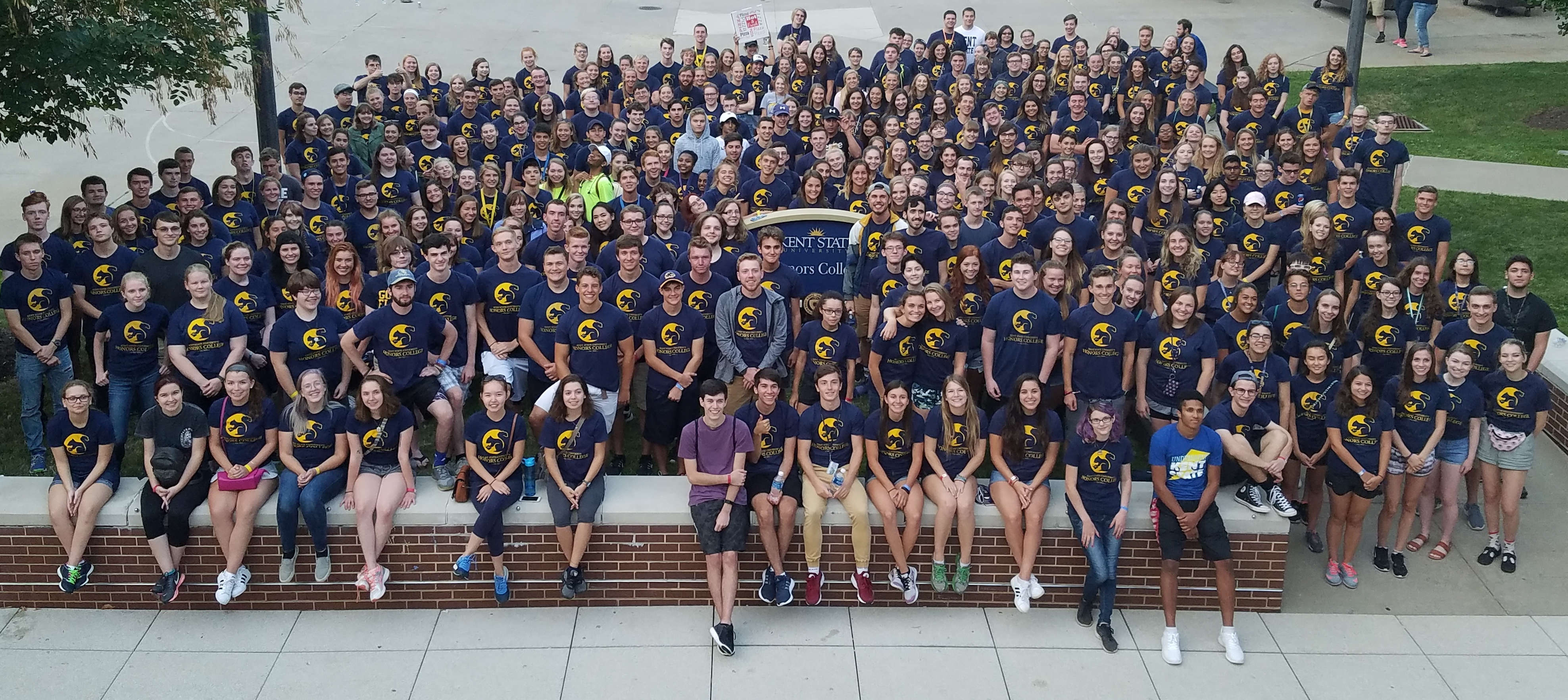 Class of 2021 Group Photo from 2017