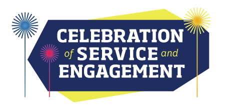 Logo for the Celebration of Service and Engagement
