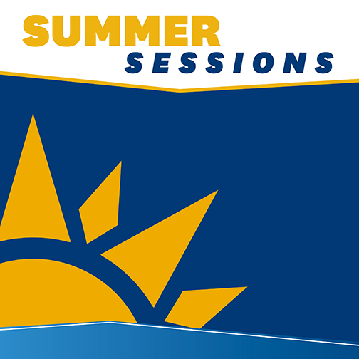 Summer Sessions Blank Social Media Graphic
