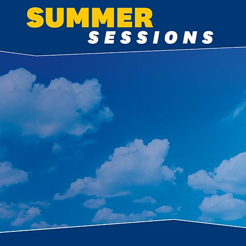Blank Social Media Summer Graphic