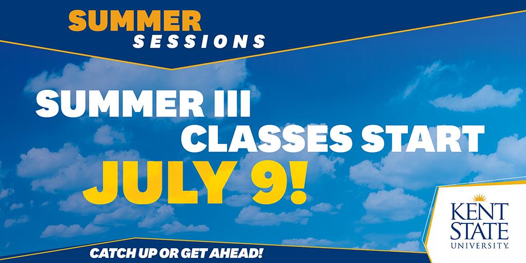 Summer III Classes Start Today