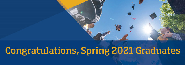 Congratulations Summer 2021 Graduates