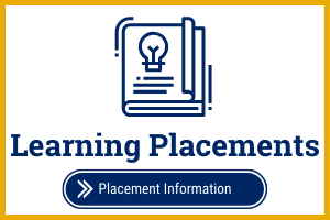 State Authorization Learning Placements Resources Text with World Icon