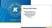 Stark PPTX template 4x3 bw