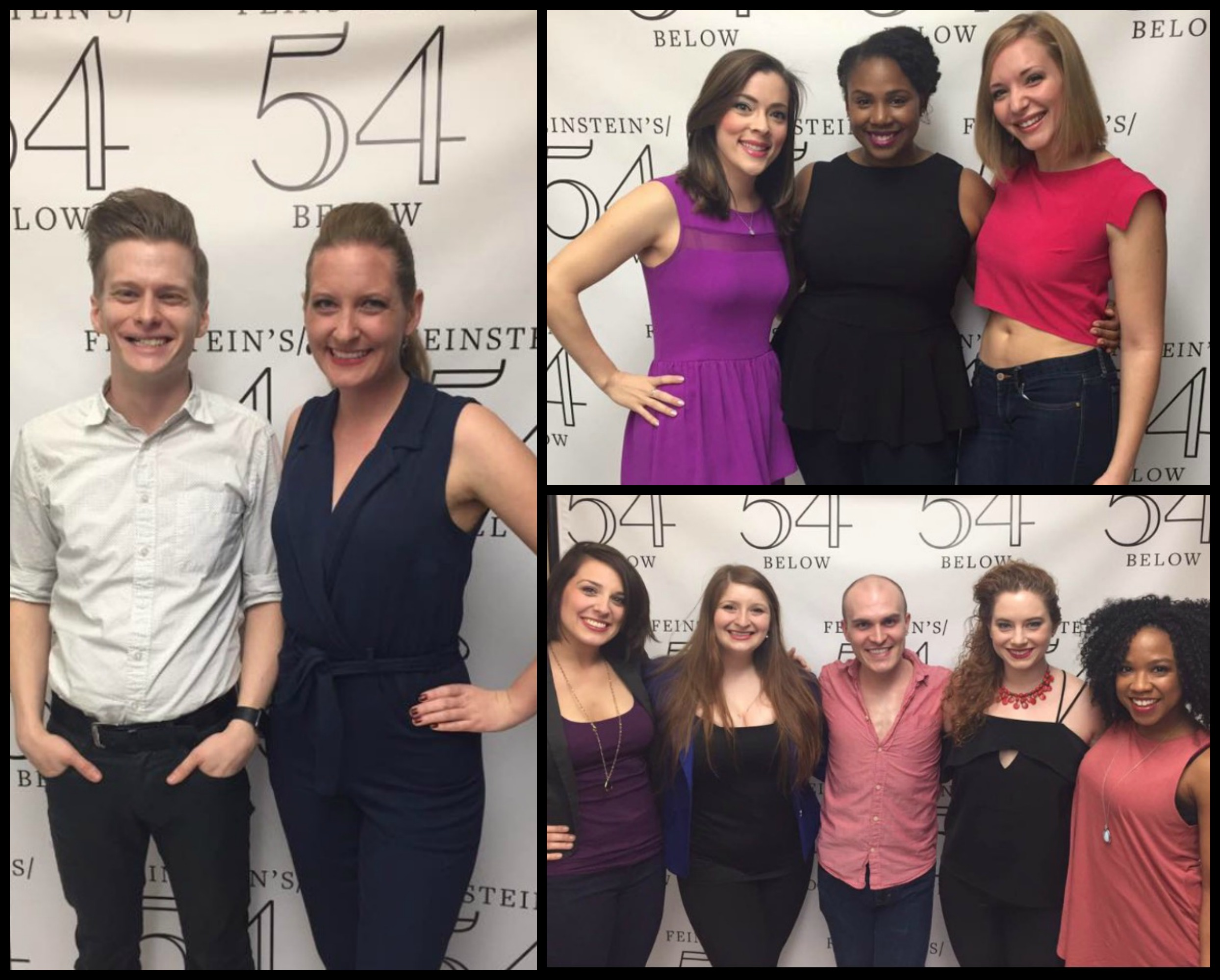 Alumni from the classes of 2011, 2010 and 2009 performed at 54 Below
