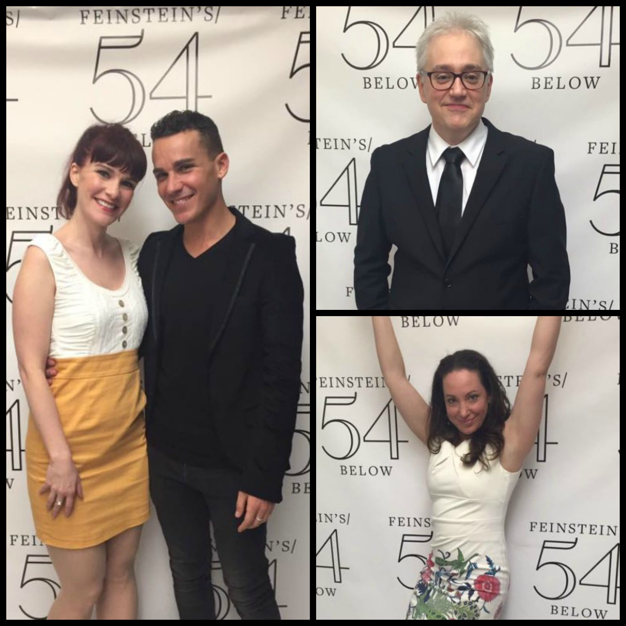 Alumni from the classes of 2007, 2003 and 2000 performed at 54 Below