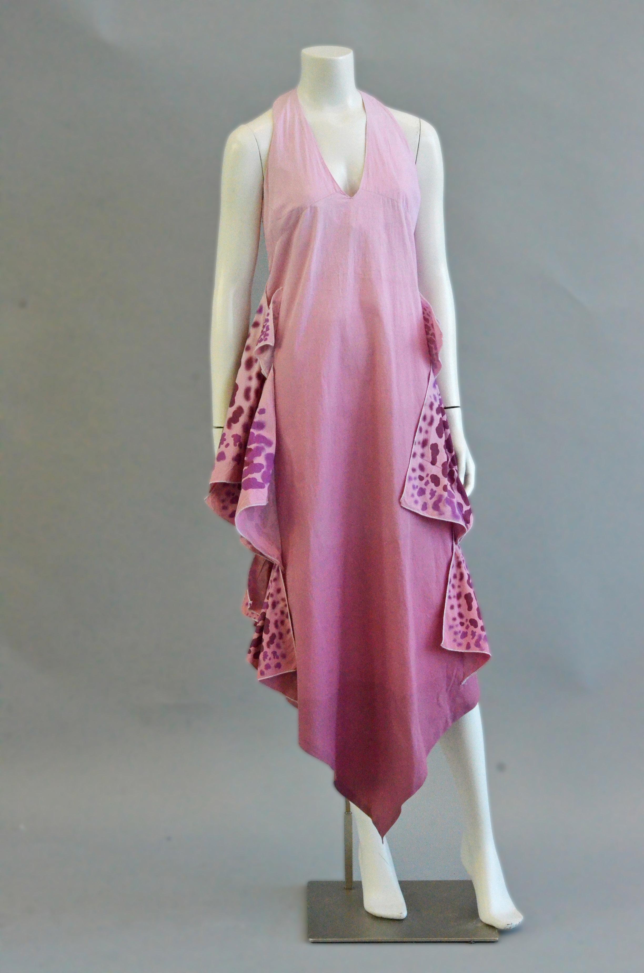 "Isabel Del Toro's garment, ""In Full Bloom"""