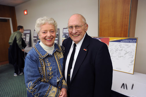 1949 graduate John Lilly and wife