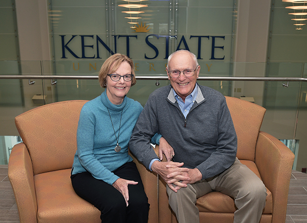 Trudy Ausfahl, '62 and Bill Ausfahl