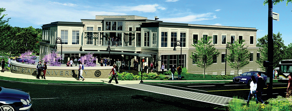 The Kent State University Alumni Association, KSU Foundation and Institutional Advancement offices are now under one roof.