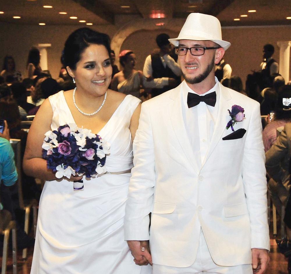 Yvette Mendoza, BA '09, married David Pittman, BA '08, on September 12, 2015