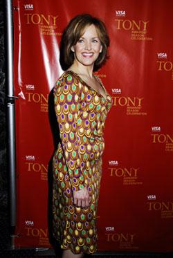 Alice Ripley at the Tony Awards. Photo Courtesy of Alice Ripley