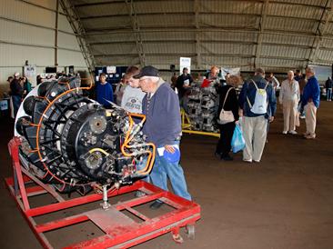 Allison J-33 Jet Engine, MAPS Air Museum