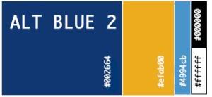 Alt Blue 2 Color Palette