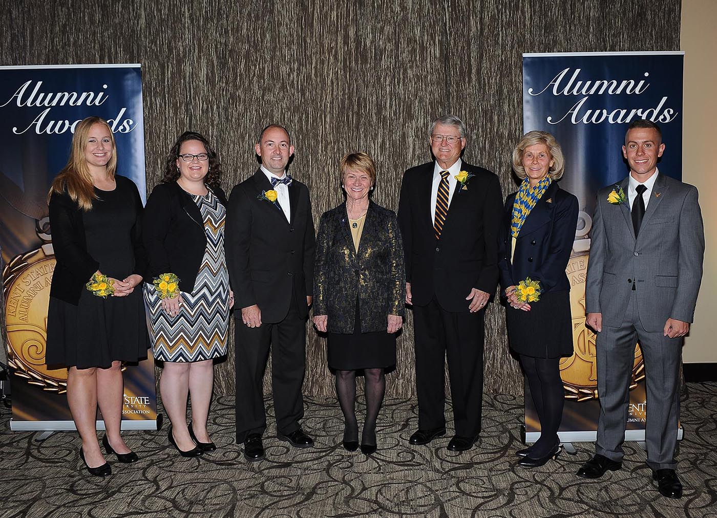 Photo of 2015 Alumni Award Recipients