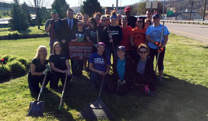 East Liverpool Mayor Ryan Stovall caught up with OTA students