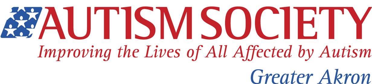 Autism Society logo for Akron