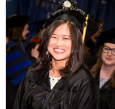 Kent State Stark bachelor's degree graduate