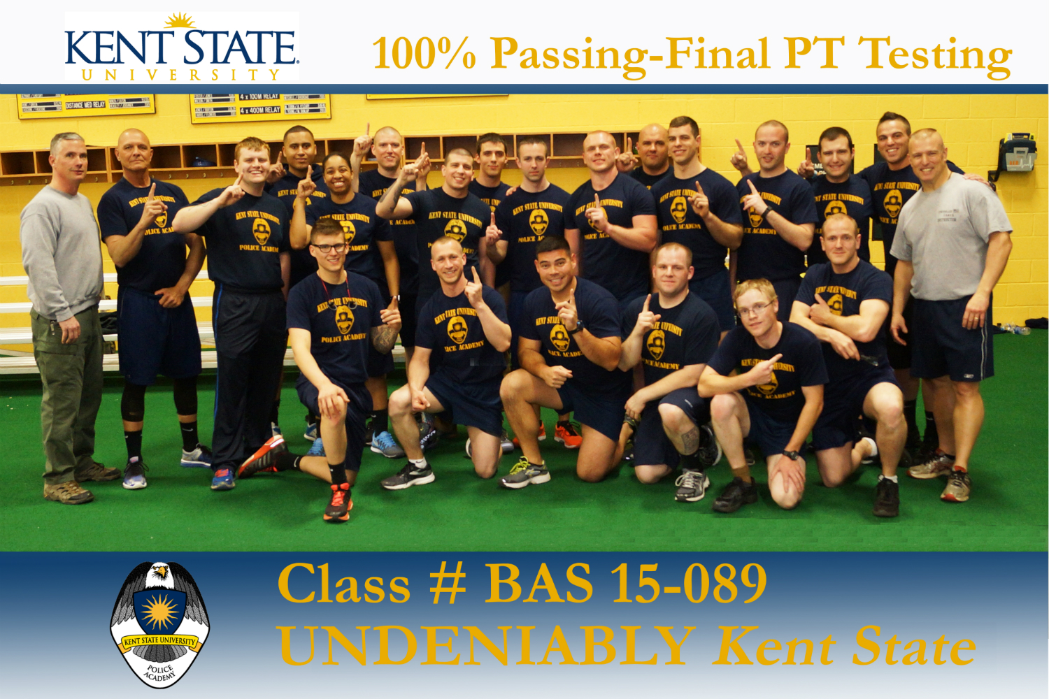 Congratulations BAS 15-089 100% Physical Fitness Test