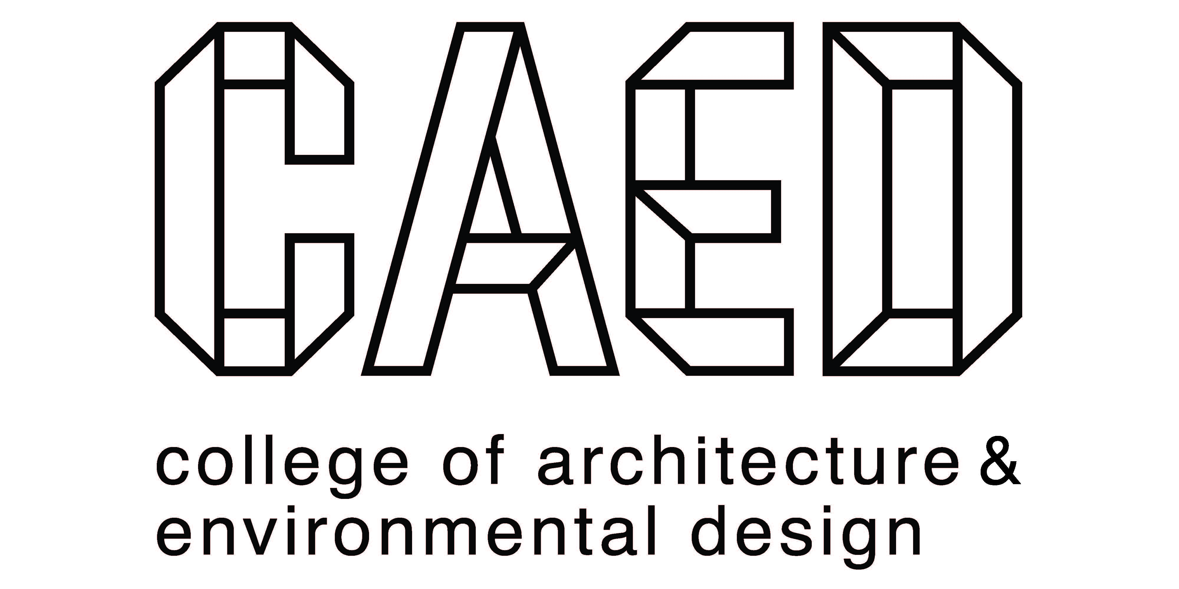 LOGO: College of Architecture and Environmental Design