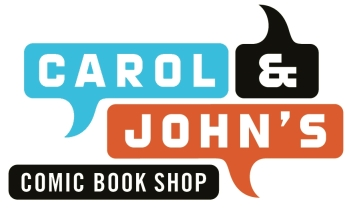 Carol and Johns Comic Shop logo