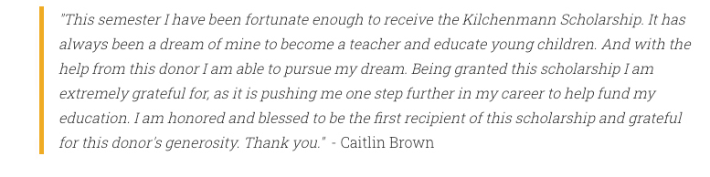 Caitlin Brown Quote