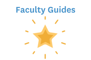 Canvas Faculty Guides icon