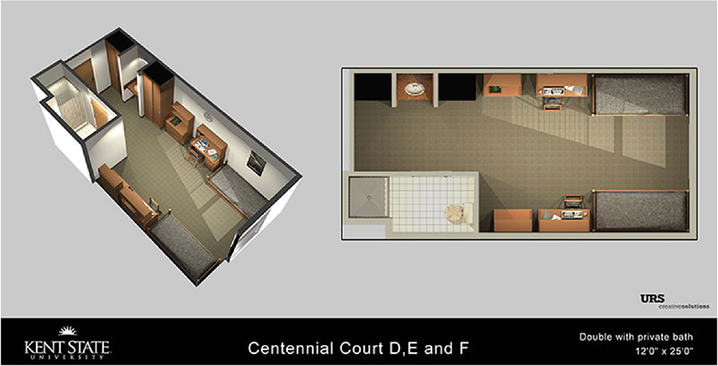 Summer Conference Housing: Centennial Court D, E, F