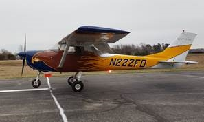 "Cessna 150 ""The Spirit of the Flying Deuce,"" Kent State University"