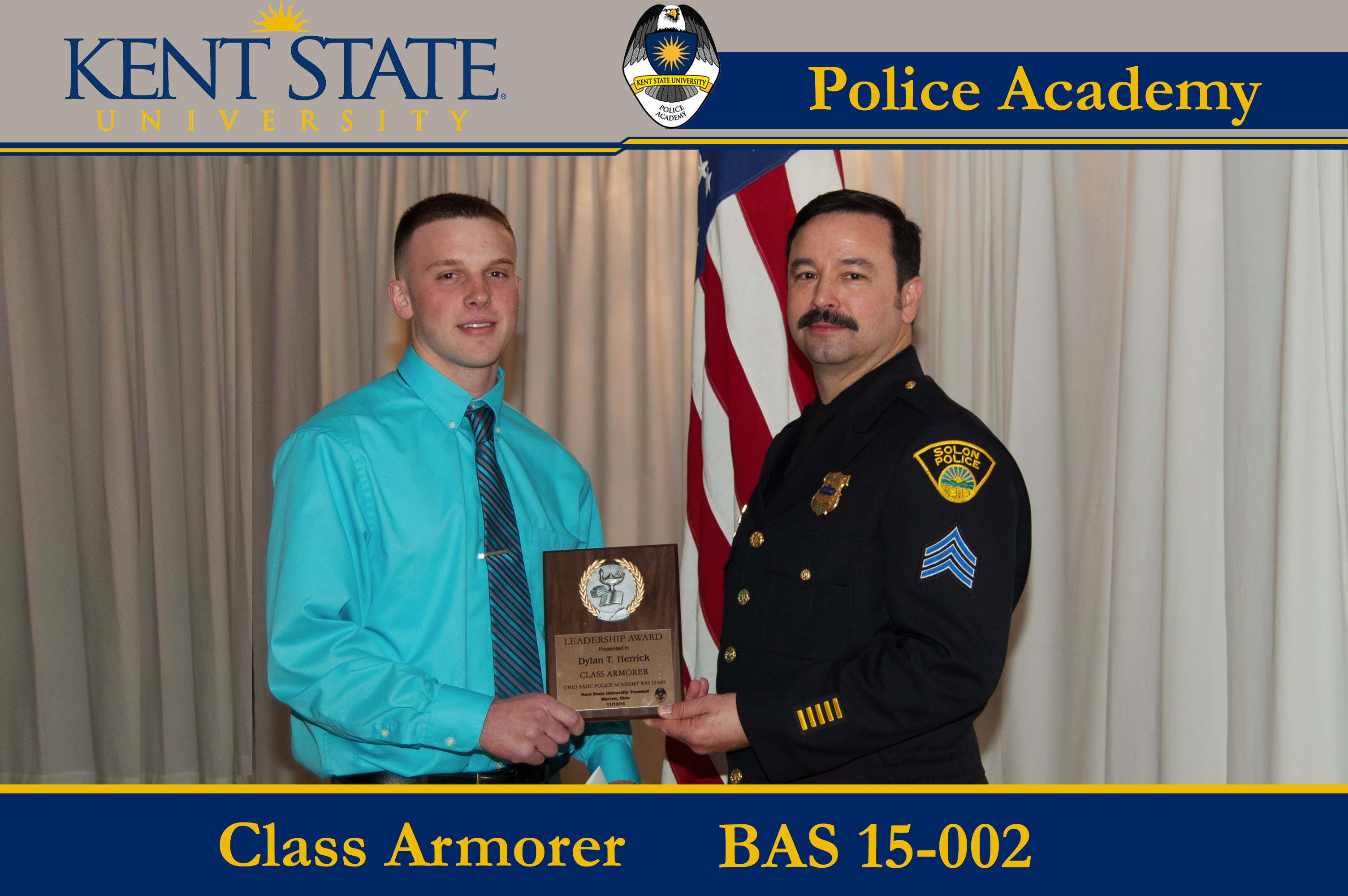 Class Armorer Pictured Receiving Award