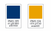 Primary Color Palette - Web Conversion