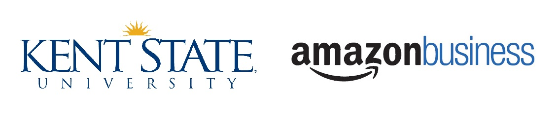 Kent State University and Amazon Business Logo
