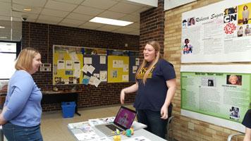 Conni Cross presented on Rebecca Sugar