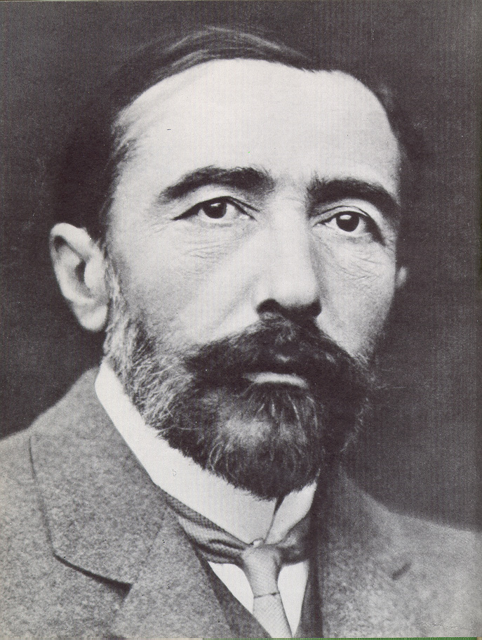 Joseph Conrad portrait