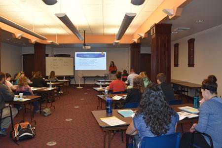 Seminar held for OT and PT clinical educators