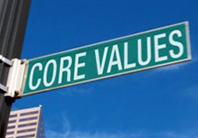 Core Values Sign