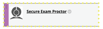 How to Create an Exam in Proctorio Move the App around Blackboard as necessary