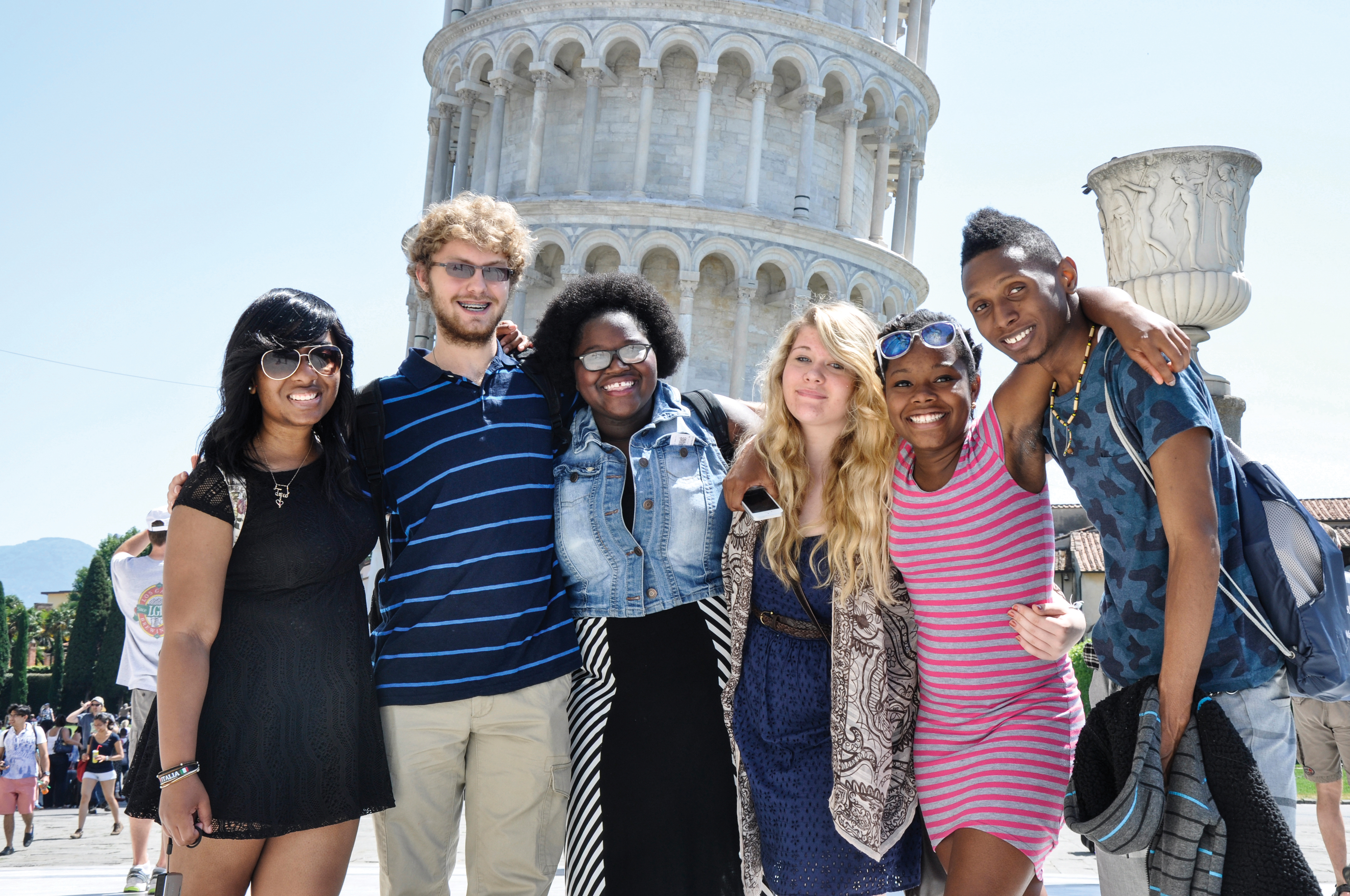 Kent State students visit Pisa, Italy