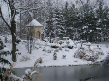 Chapel Garden Winter