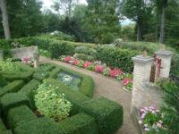 Boxwood Walled Garden