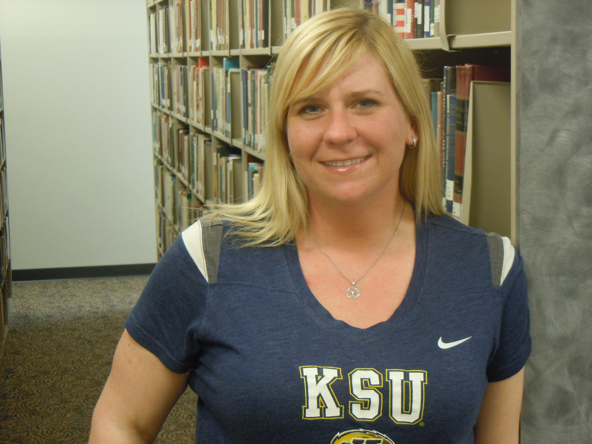 Kent State Trumbull senior Stacee Stinedurf was recently honored by the Kent State Women's Center