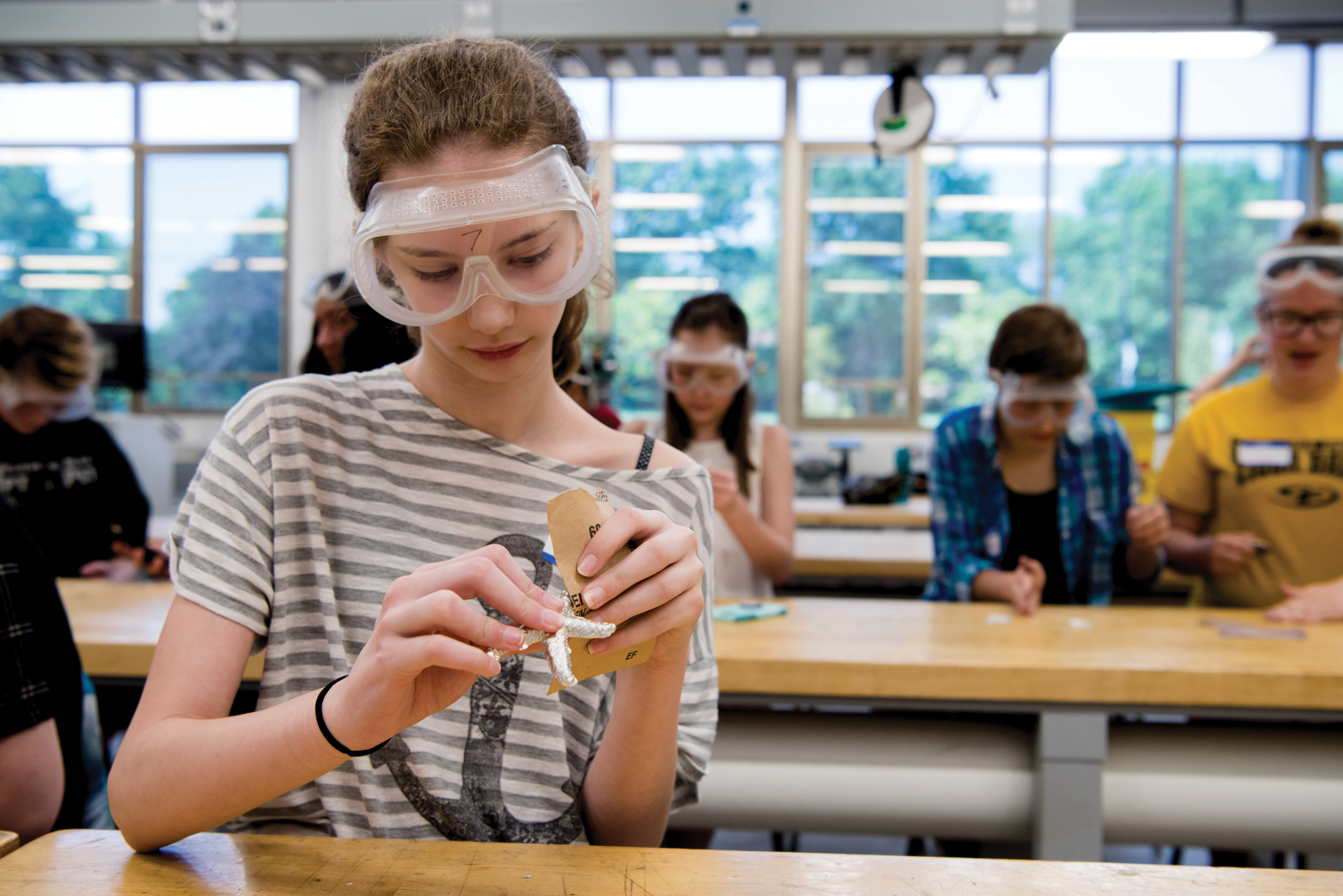 Girls Geared for Engineering