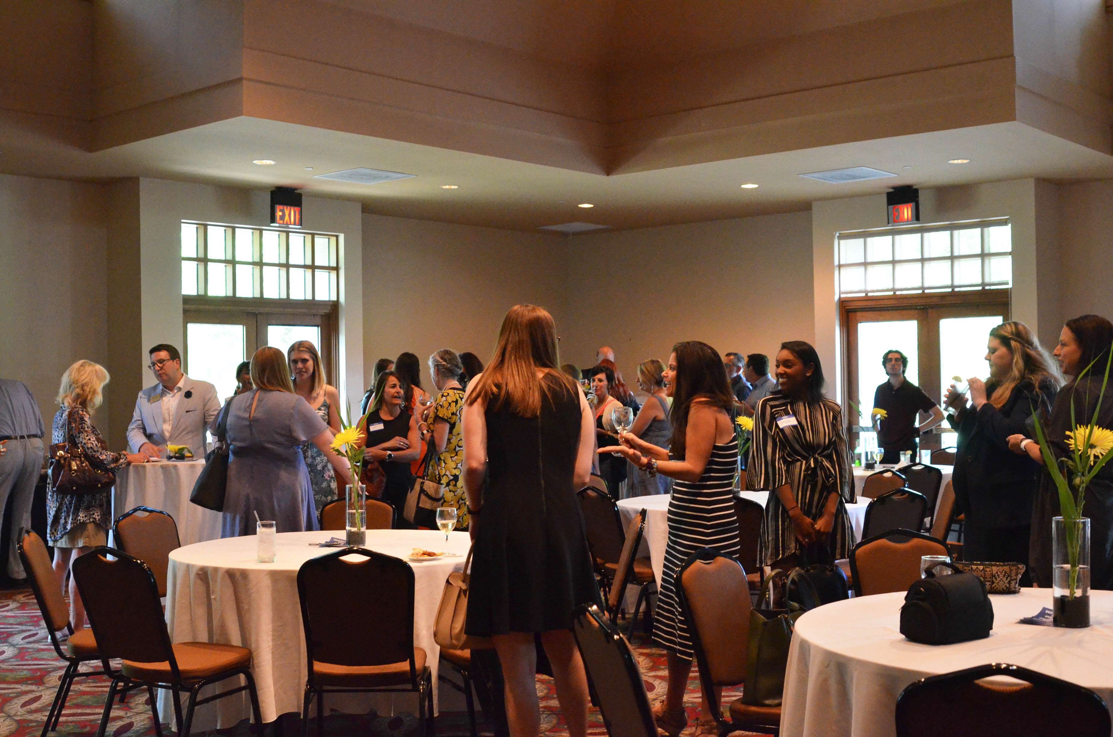 Attendees of the Fashion School's 2019 Columbus Alumni Networking Event