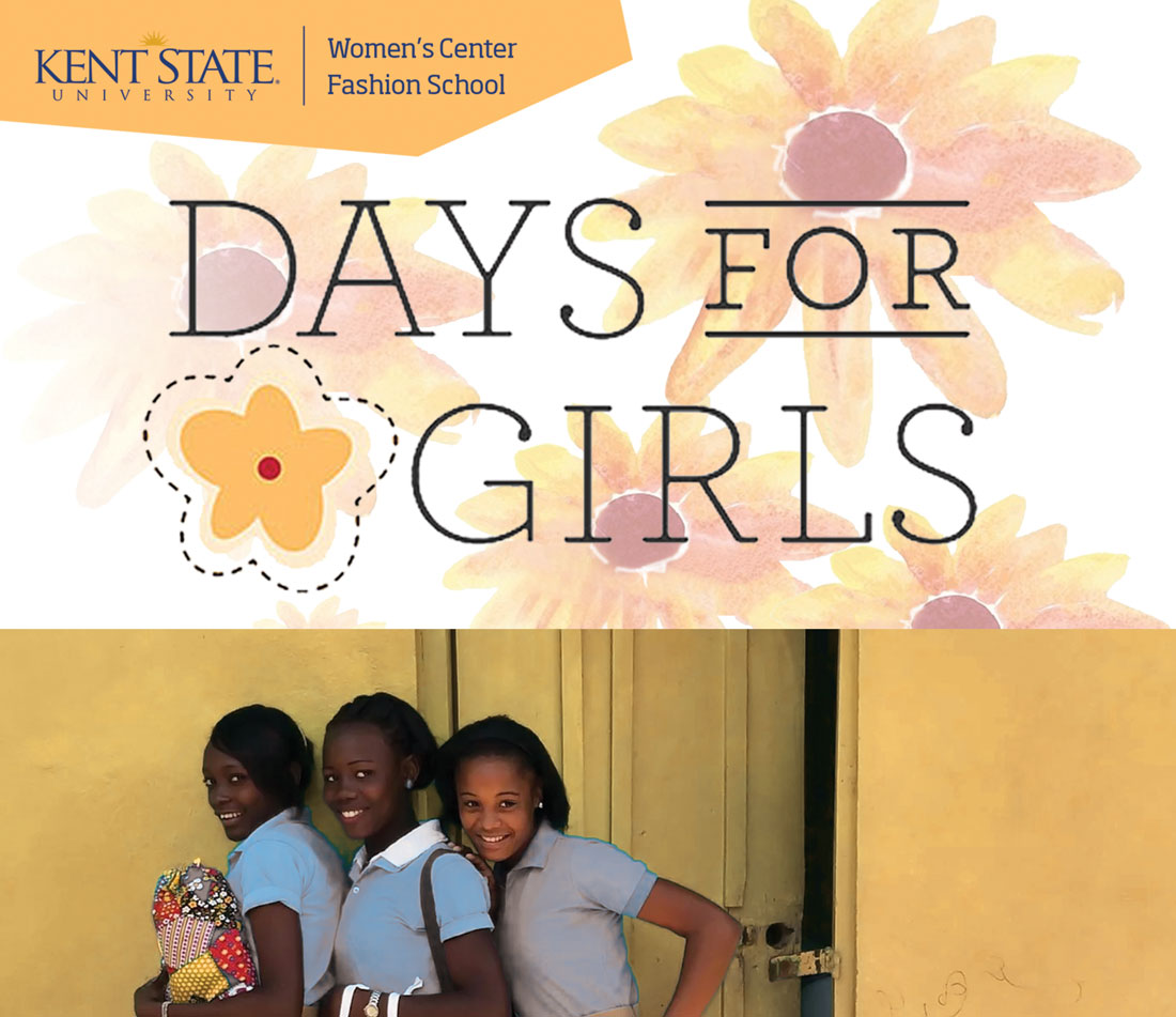 The KSU Women's Center and the Fashion School present Days for Girls
