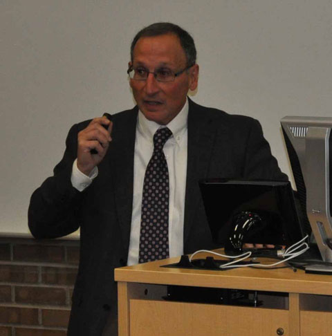 Dr. Paul E. DiCorleto, vice president for research and sponsored programs at Kent State University