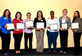 The University Diversity Action Council awarded certificates of Appreciation to some of its members for their outstanding work and contributions to the council and the university.